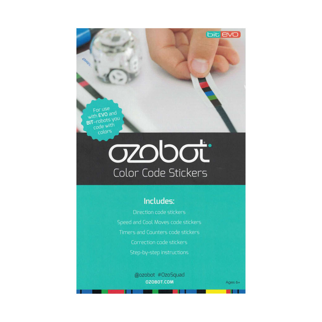 Ozobot Color Code Stickers Pack